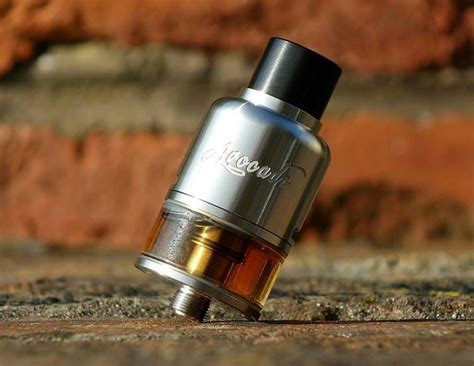 Rdta Avocado 24 Bottom Airflow Black Authentic By Geekvape buy geekvape avocado 24 rdta bottom airflow tank with best