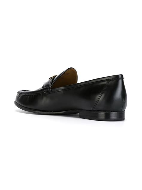 burch loafers burch townsend loafers in black lyst