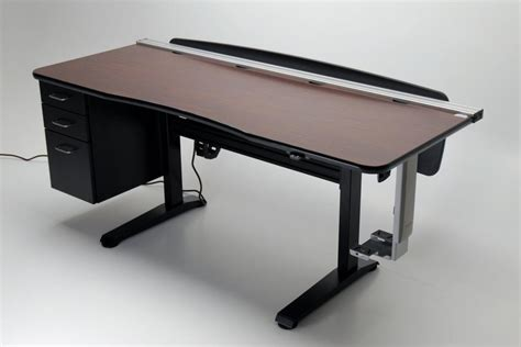 height adjustable office desks ergo vanguard office 72 adjustable height desk martin
