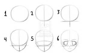 how to draw anime step by step how to draw anime heads step by step for beginners