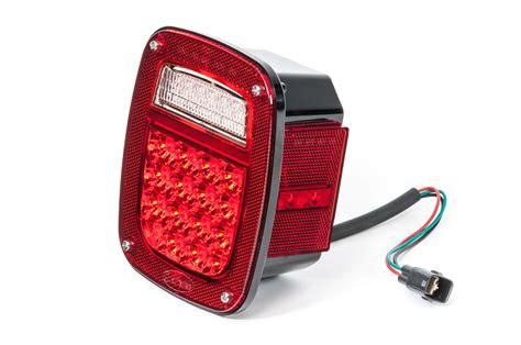 wrangler tj led lights quadratec 174 gen ii led headlights with led tail light kit