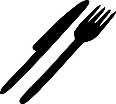 kitchen forks and knives fork knife silverware clip art at clker com vector clip