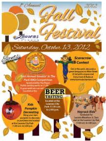 fall festival flyer template 17 best images about fall festival flyers on