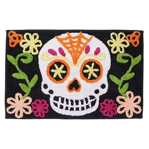 Sugar Skull Rug 17 Best Images About Santa Muerte On Pinterest Santa