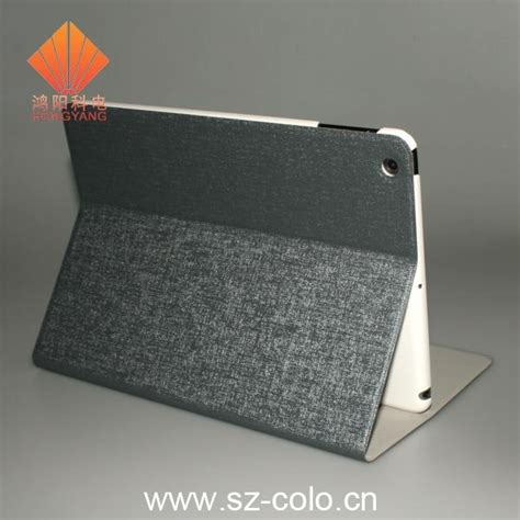 designer ipad case new stand leather design for ipad air case fn1005 colo