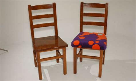 restaurar  tapizar una silla de madera bricomania