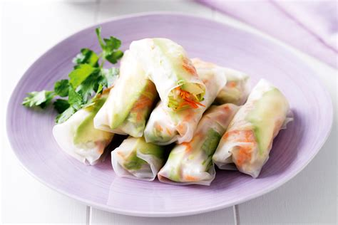 Rice Paper Rolls - mona s recipes rice paper rolls