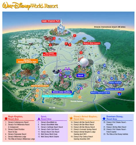 disney world maps disney maps map of disney world epcot
