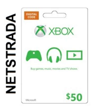 50 Dollar Xbox Gift Card - xbox 50 usa live gift card microsoft points ms certificate emailed worldwide