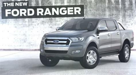 ford ranger 2015 2015 ford ranger facelift fully revealed autoevolution