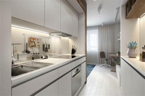 amenagement cuisine studio am 233 nager un studio int 233 rieurs design de moins de 30m2