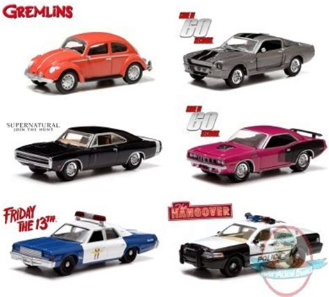 Greenlight Friday The 13th Vw Classic Bettle 1 64 greenlight series 7 set of 6 vehicles of figures