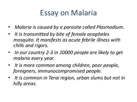 Free Research Paper On Malaria by Malaria Essay Introduction Mfacourses719 Web Fc2