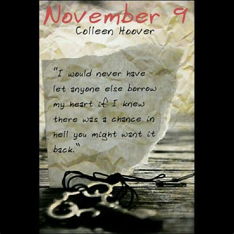 November 9 By Colleen Hoover 17 best images about november 9 by colleen hoover on books and spotlight