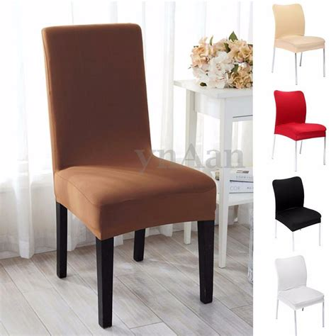 stretch dining chair seat covers uk removable elastic stretch slipcovers dining room chair