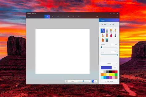 paint 3d microsoft s paint 3d app gets a project neon update