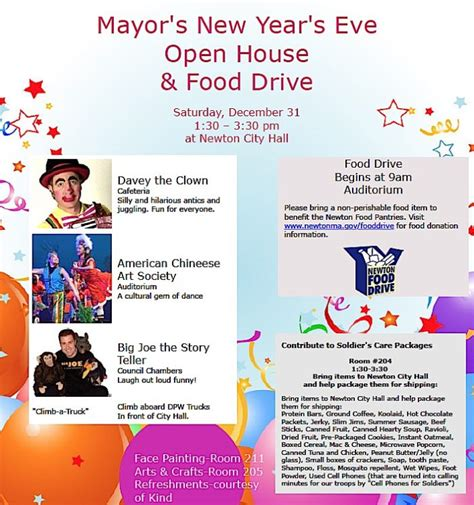 new year open house malaysia 2016 my town newton ma happenings around town