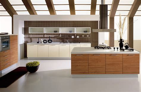 modern interior design kitchen wooden kitchen countertops white paint color cabinet on