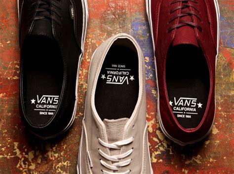 Sepatu Asics Aaron vans california authentic decon quot distressed leather pack quot sneakernews