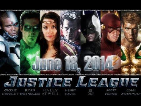 justice league film release date justice league movie release date june 18 2014 rumored