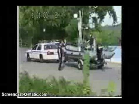 police boat fails epic cop fail launching a boat lmao youtube