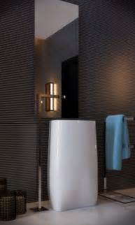 wall texture ideas for bathroom 33 modern pedestal bathroom sinks to make a statement