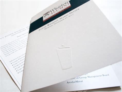 Wharton Mba 2 Invitation by Wharton Alumni Society Education And Not For Profit