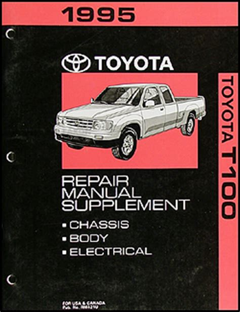 best car repair manuals 1993 toyota t100 engine control 1993 1996 toyota t100 truck automatic transmission repair shop manual