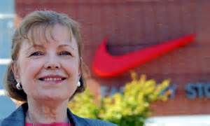 Swoosh Story Of Nike And The Who Played There J B Strasser who designed nike swoosh explains story of its inception 40 years ago daily mail