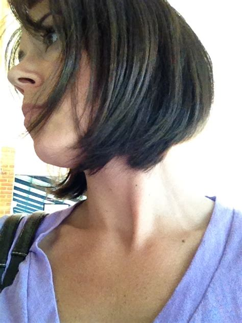 hairstyles when growing out inverted bob growing out stacked inverted bob short hairstyle 2013