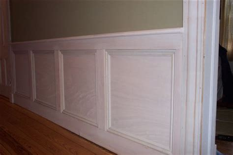 Mdf Wainscoting Panels mdf wainscot finish carpentry contractor talk