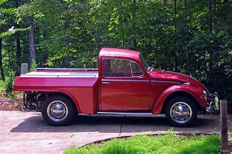 volkswagen truck you can t help but this 1967 vw beetle truck