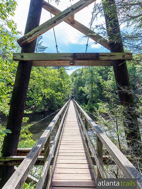 swinging bridge blue ridge ga toccoa river swinging bridge near blue ridge ga