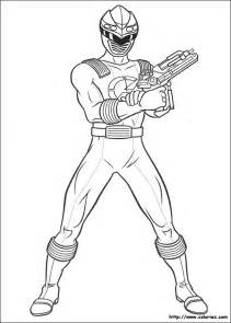 coloriage power rangers dino tonnerre