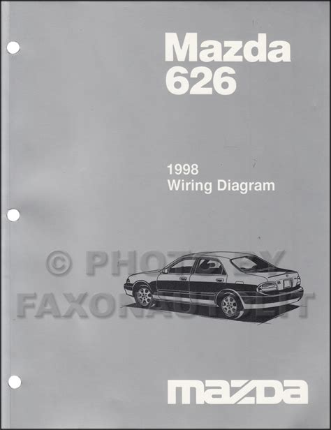 car repair manuals download 1998 mazda 626 regenerative braking mazda 626 wiring diagram service manual efcaviation com