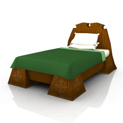 cartoon beds 3d cartoon bed