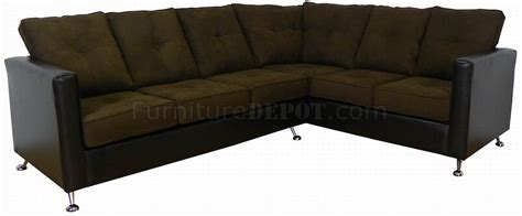 vinyl sectional sofa java fabric chocolate vinyl modern sectional sofa