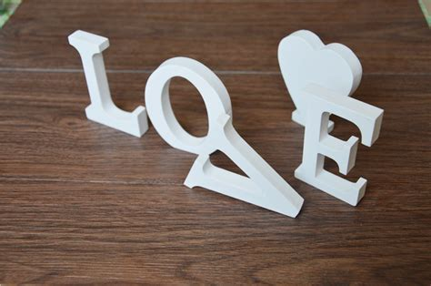 free standing wooden letters large 20 cm wooden letter free standing home decor decoration 12 cm artificial wood
