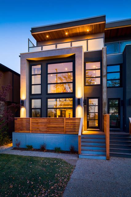 modern homes calgary alberta search exterior