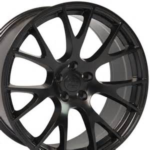 20 Inch Rims On Dodge Charger Dg15 20 Inch Satin Black Rims Fit Dodge Charger Challenger
