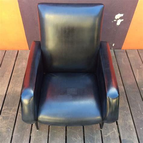 fauteuil skai noir vintage fauteuil vintage rockabilly ska 239 noir datant des ann 233 es 60