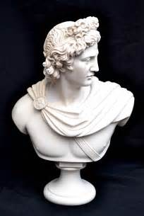 Regent antiques marble stunning marble bust of greek god apollo
