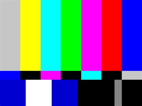 test pattern tv it s our time on the edge test pattern