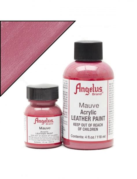 angelus paint timberlands angelus dyes paint mauve 4oz leather paint leather