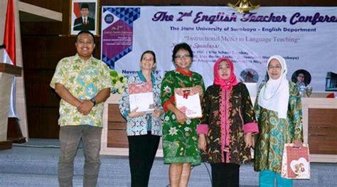 Bahasa Inggris Untuk Mipa Prof Dr Sri Juari Santosa M Eng universitas negeri surabaya fakultas bahasa dan seni jurusan pendidikan bahasa inggris