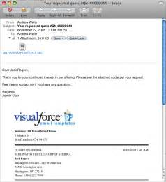 visualforce emailquote2pdf developer