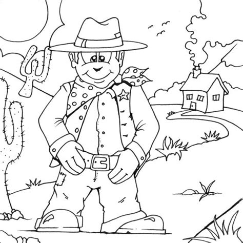 free coloring pages cowboy theme 164 best images about cowboys on pinterest coloring
