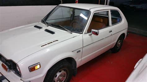 vintage honda civic 77 honda civic cvcc classic honda civic 1977 for sale