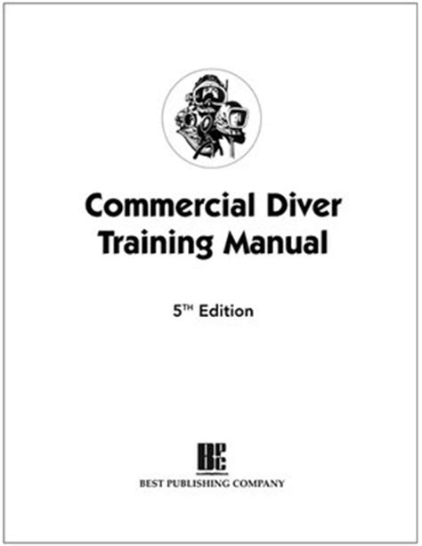 Commercial Diver Training Manual Aa Vv