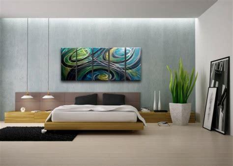 schlafzimmer pflanzen die kunst an der wand